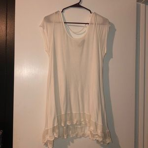 Tops - Lizard Thicket boutique white shirt